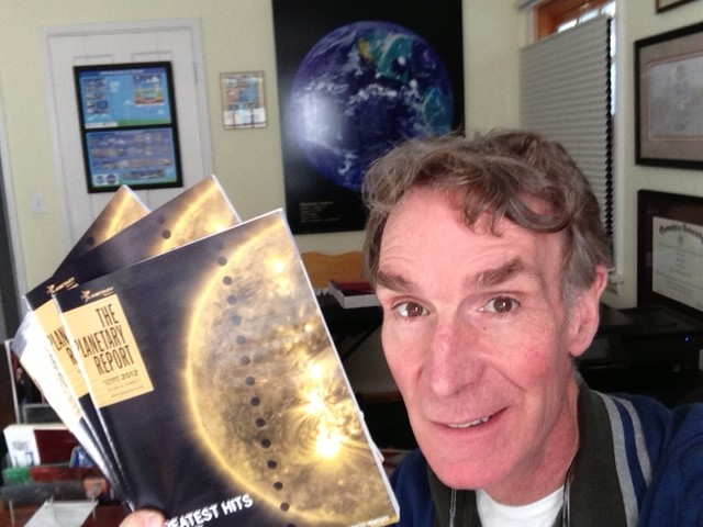Bill Nye with The Planetary Report